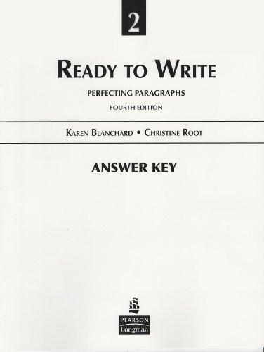 9780131363335: Answer Key