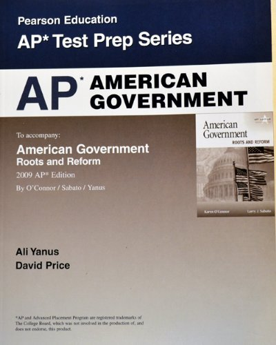 9780131363373: AP American Government (Pearson Education AP Test Prep Series)
