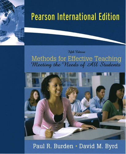 9780131363977: Methods for Effective Teaching: Meeting the Needs of All Students