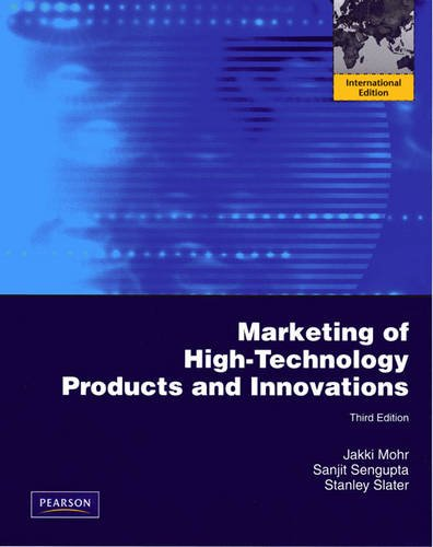 9780131364912: Marketing of High-Technology Products and Innovations: International Edition