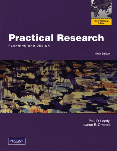 9780131365667: Practical Research: Planning and Design: International Edition