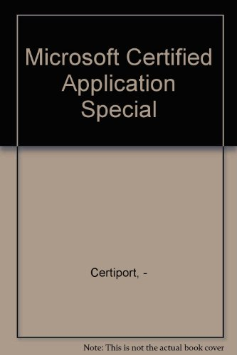 9780131366060 microsoft certified application specialist voucher