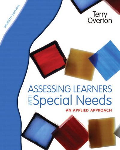 9780131367104: Assessing Learners with Special Needs: An Applied Approach (7th Edition)