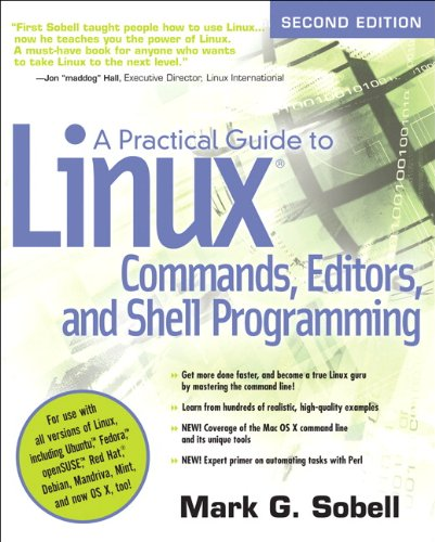 9780131367364: A Practical Guide to Linux Commands, Editors, and Shell Programming (2nd Edition)