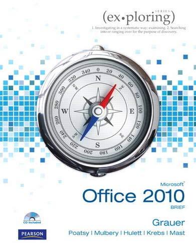 9780131367401: Exploring Microsoft Office 2010 Brief (Ex-ploring Series)