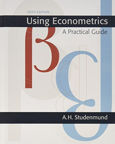 9780131367739: Using Econometrics: A Practical Guide (6th Edition) (Pearson Series in Economics (Hardcover))
