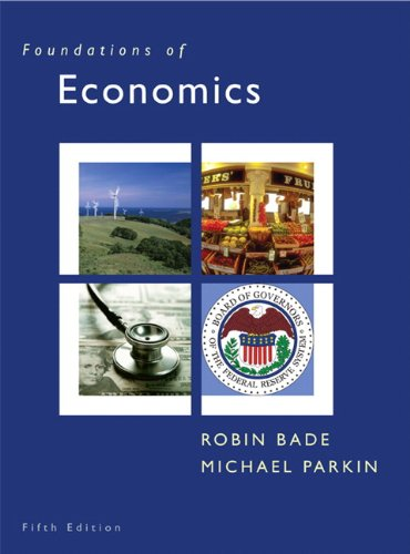 9780131367838: Foundations of Economics (5th Edition)