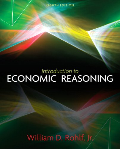 9780131368583: Introduction to Economic Reasoning (8th Edition)