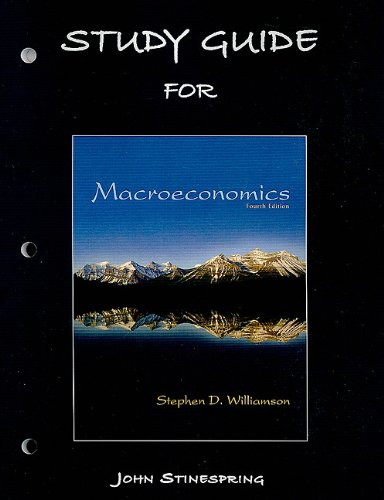 9780131368743: Study Guide for Macroeconomics