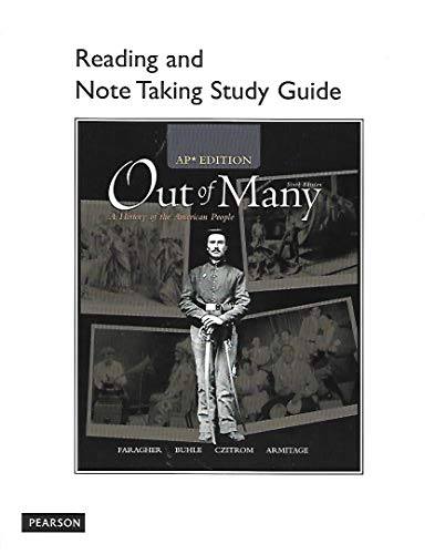 9780131371248: Out of Many: A history of the American People, AP Edition, Reading and Note Taking Study Guide