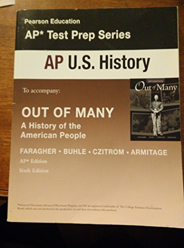 9780131371279: OUT OF MANY:AP TEST PREP WKBK