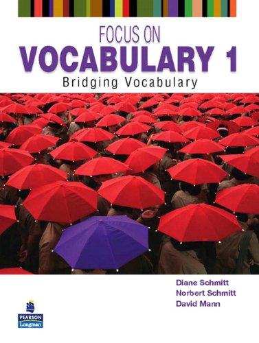 9780131376199: Focus on Vocabulary 1: Bridging Vocabulary (2nd Edition)