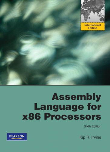 9780131377097: Assembly Language for X86 Processors: International Version