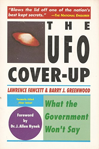 9780131377127: The UFO Cover -up - What the Government Won't Say