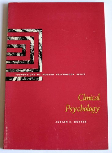 9780131378025: Clinical Psychology (Foundations of Modern Psychology)