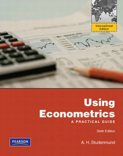 9780131379985: Using Econometrics:A Practical Guide: International Edition
