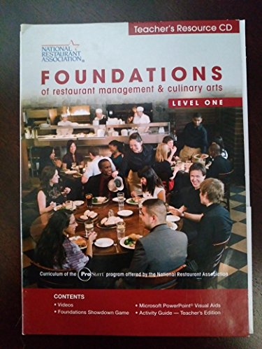 9780131380134 foundations of restaurant management culinary arts