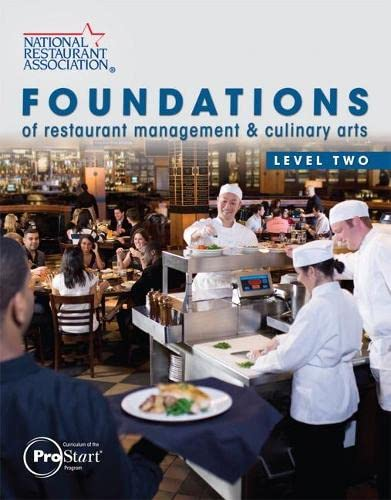 9780131380226: Foundations of Restaurant Management & Culinary Arts: Level 2