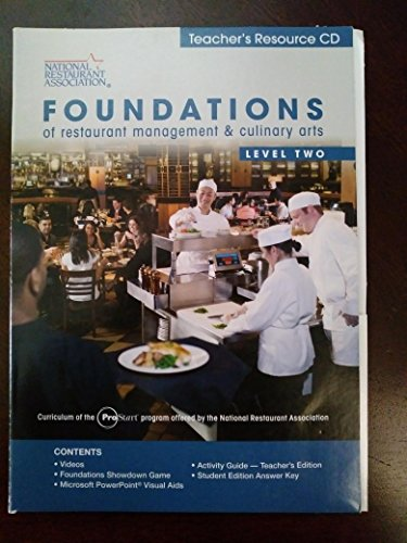 9780131380691: Foundations of Resturant Management and Culinary Arts Level Two (National Restaurant Association) (National Restaurant Association)