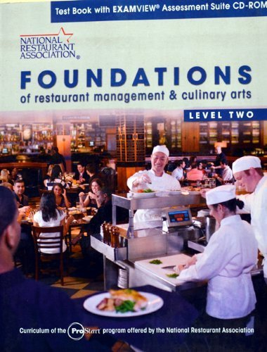 9780131380721: Foundations of Restaurant managemnet & culinary arts Level Two textbook with examview assessment suite CD-ROM