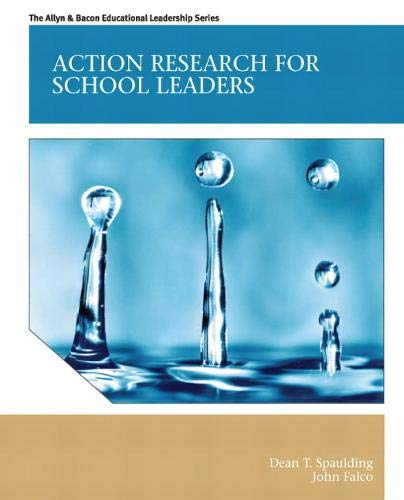 9780131381049: Action Research for School Leaders (Allyn & Bacon Educational Leadership)