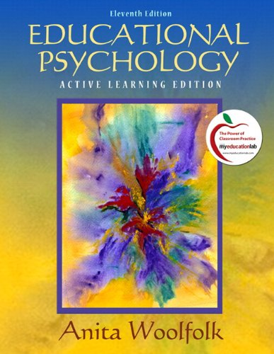 9780131381117: Educational Psychology: Modular Active Learning Edition (with MyEducationLab) (11th Edition)