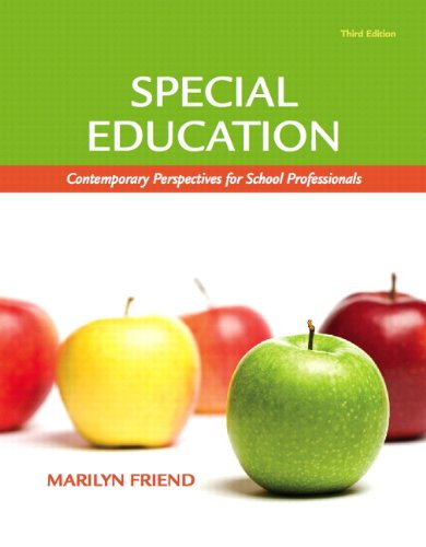9780131381216: Special Education: Contemporary Perspectives for School Professionals (with MyEducationLab) (3rd Edition) (Pearson Custom Education)