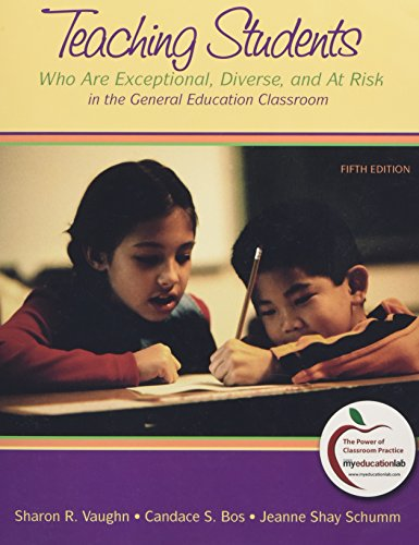 9780131381254: Teaching Students Who are Exceptional, Diverse, and at Risk in the General Education Classroom (with MyEducationLab) (5th Edition)