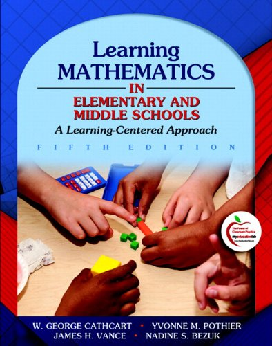 9780131381384: Learning Mathematics in Elementary and Middle Schools: A Learner-Centered Approach (with MyEducationLab)