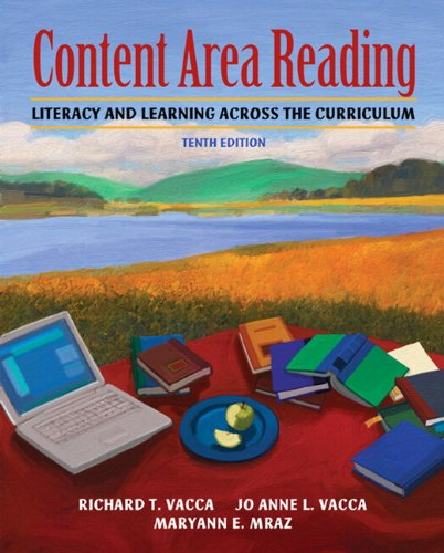 9780131381438: Content Area Reading: Literacy and Learning Across the Curriculum [With Access Code]
