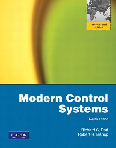 9780131383104: Modern Control Systems: International Edition