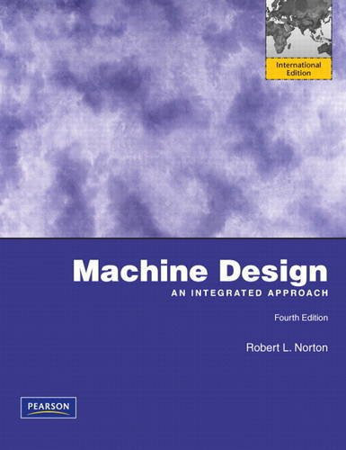 9780131384385: Machine Design: International Edition