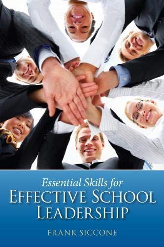 9780131385191: Essential Skills for Effective School Leadership