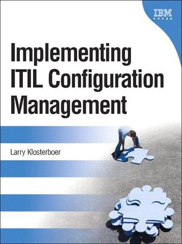 9780131385658: Implementing ITIL Configuration Management (paperback) (IBM Press)