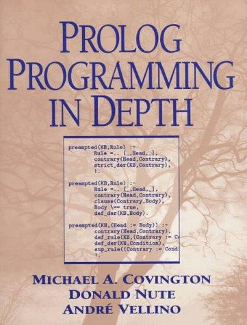 9780131386457: Prolog Programming in Depth