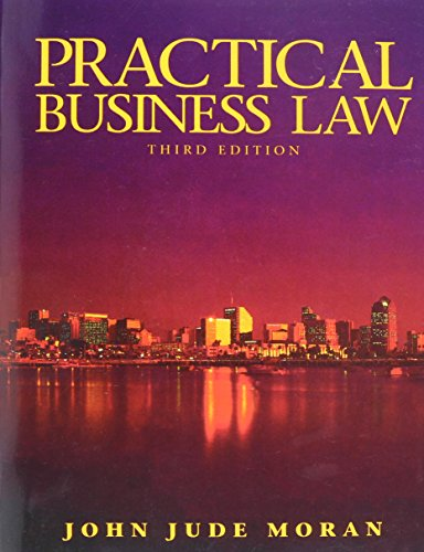9780131386600: Practical Business Law (3rd Edition)