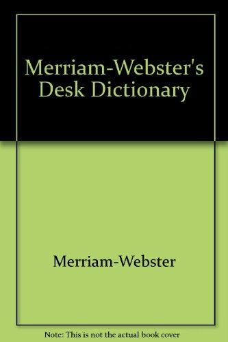 9780131387386: Merriam-Webster's Desk Dictionary