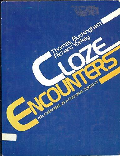9780131388758: Cloze Encounters: Esl Exercises in a Cultural Context