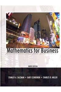 9780131391192: Mathematics for Business [With Access Code]