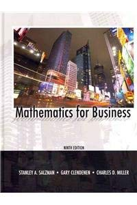 9780131391192: Mathematics for Business and MyMathLab/MyStatLab -- Valuepack Access Card Package (9th Edition)