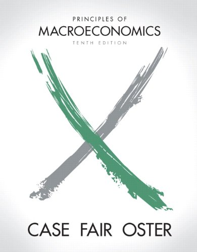 9780131391406: Principles of Macroeconomics (10th Edition) (Pearson Series in Economics)