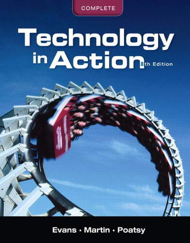 9780131391574: Technology In Action, Complete (8th Edition)
