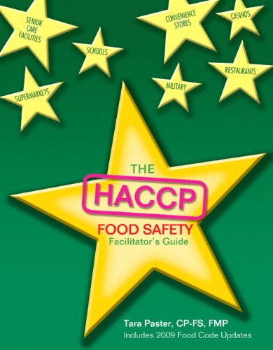 9780131391932: Facilitators Guide for HACCP Food Safety Employee Manual