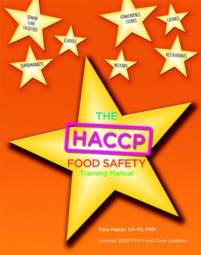 9780131391956: HACCP Food Safety Managers Training Manual, The for HACCP Food Safety Employee Manual