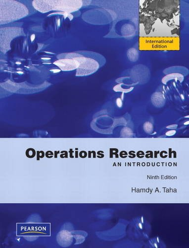 9780131391994: Operations Research:An Introduction: International Edition