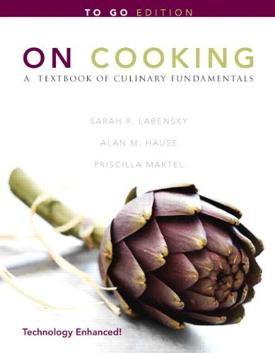 9780131392113: On Cooking: A Textbook of Culinary Fundamentals