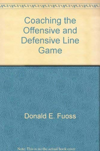 9780131393035: Coaching the offensive and defensive line game,