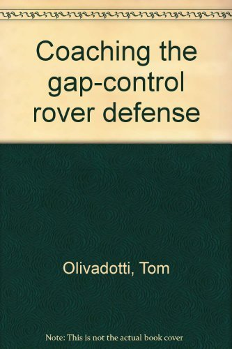9780131393110: Coaching the gap-control rover defense