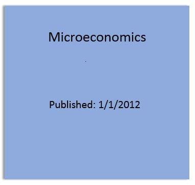 9780131394278: Microeconomics