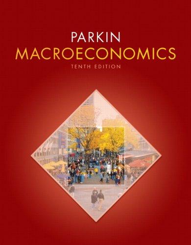 9780131394452: Macroeconomics (10th Edition) (Pearson Series in Economics)
